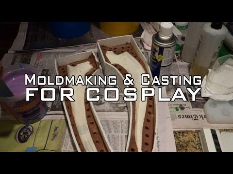Resin Casting with LEDs for Cosplay