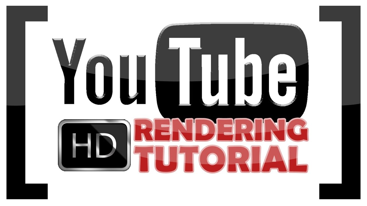 Hd wallpaper youtube - Best Hd Render Settings For Youtube 2012 720p 1080p