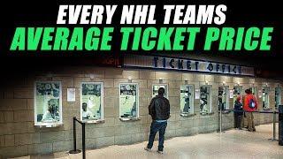 Every NHL Teams Average Ticket Price