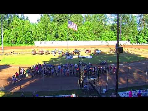 Cottage Grove Speedway Marvin Smith Memorial Opening Ceremonies 2018