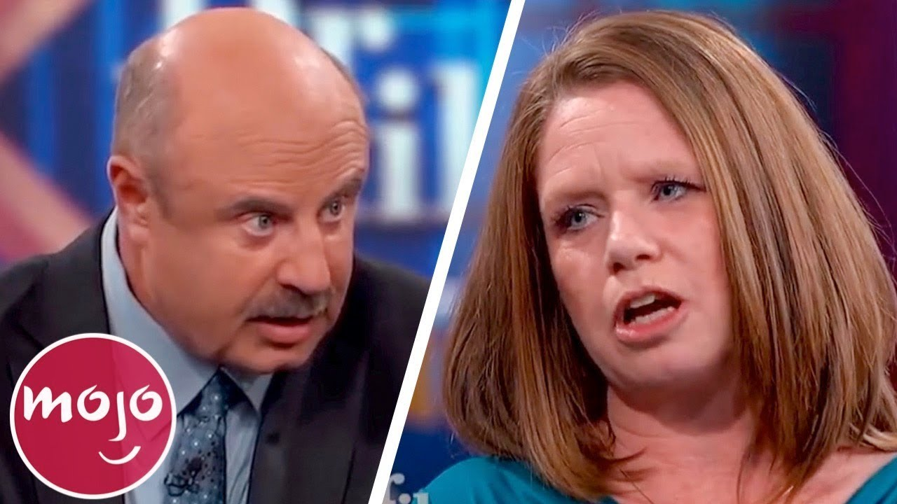 Another Top 10 Most Shocking Guests on Dr  Phil