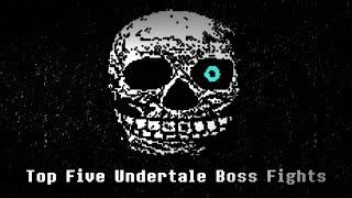 Top Five Undertale Boss Fights