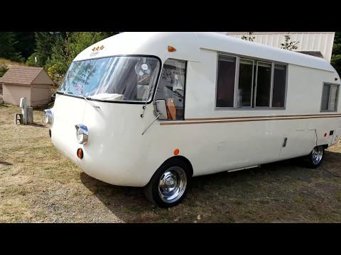 Vintage RV, 1968 Corvair powered Ultra Van - YouTube