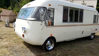 Vintage RV,  1968 Corvair powered Ultra Van