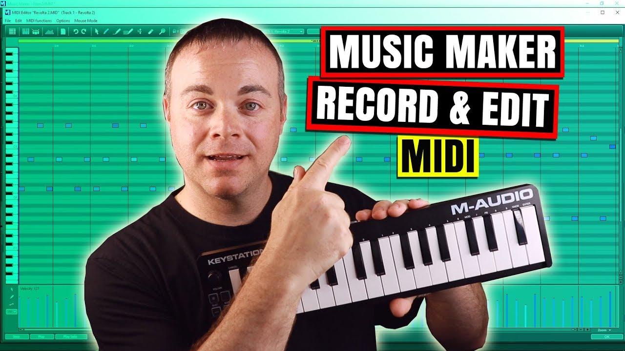 Best Midi Keyboard 2020.Magix Music Maker Tutorial Midi Recording In Magix Music Maker 2020