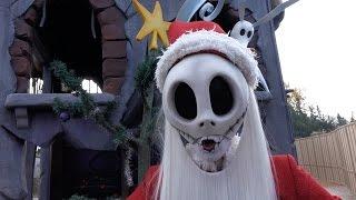Jack Skellington as Sandy Claws Christmas 2015 at Disneyland Paris