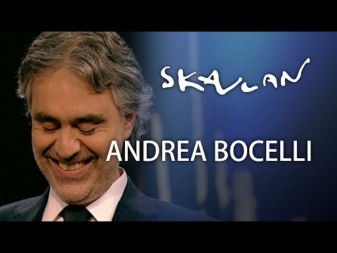 Andrea Bocelli Interview  | Skavlan