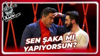 Beyaz'dan Gülme Krizine Sokan Hareketler!   O Ses Türkiye 29. Bölüm