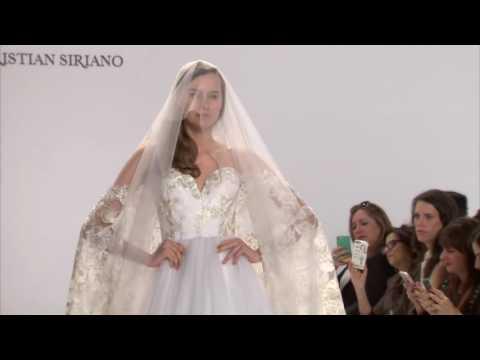 Christian Siriano's Spring 2017 Bridal Runway Show