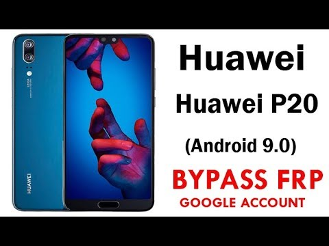 Bypass FRP Lock HUAWEI P20 Android 9 Easy Steps & Quick New method 100%  Work