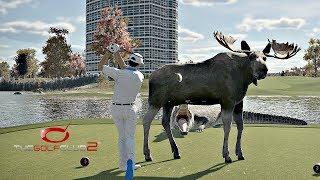 The Golf Club 2 - Crazy Random Golf Course! (PS4 Pro Gameplay)