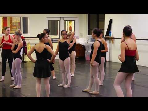 The Nutcracker Rehearsal with Laurel
