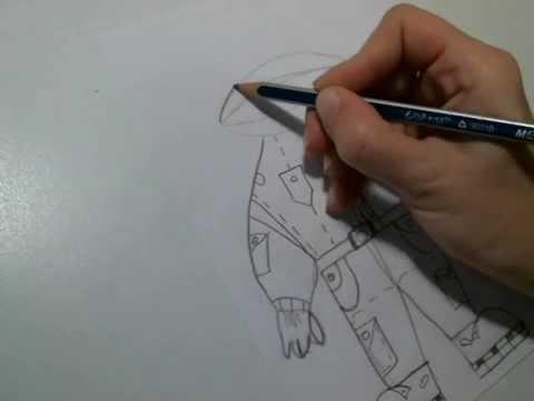 Рисуем быстро и просто.Как нарисовать Космонавта