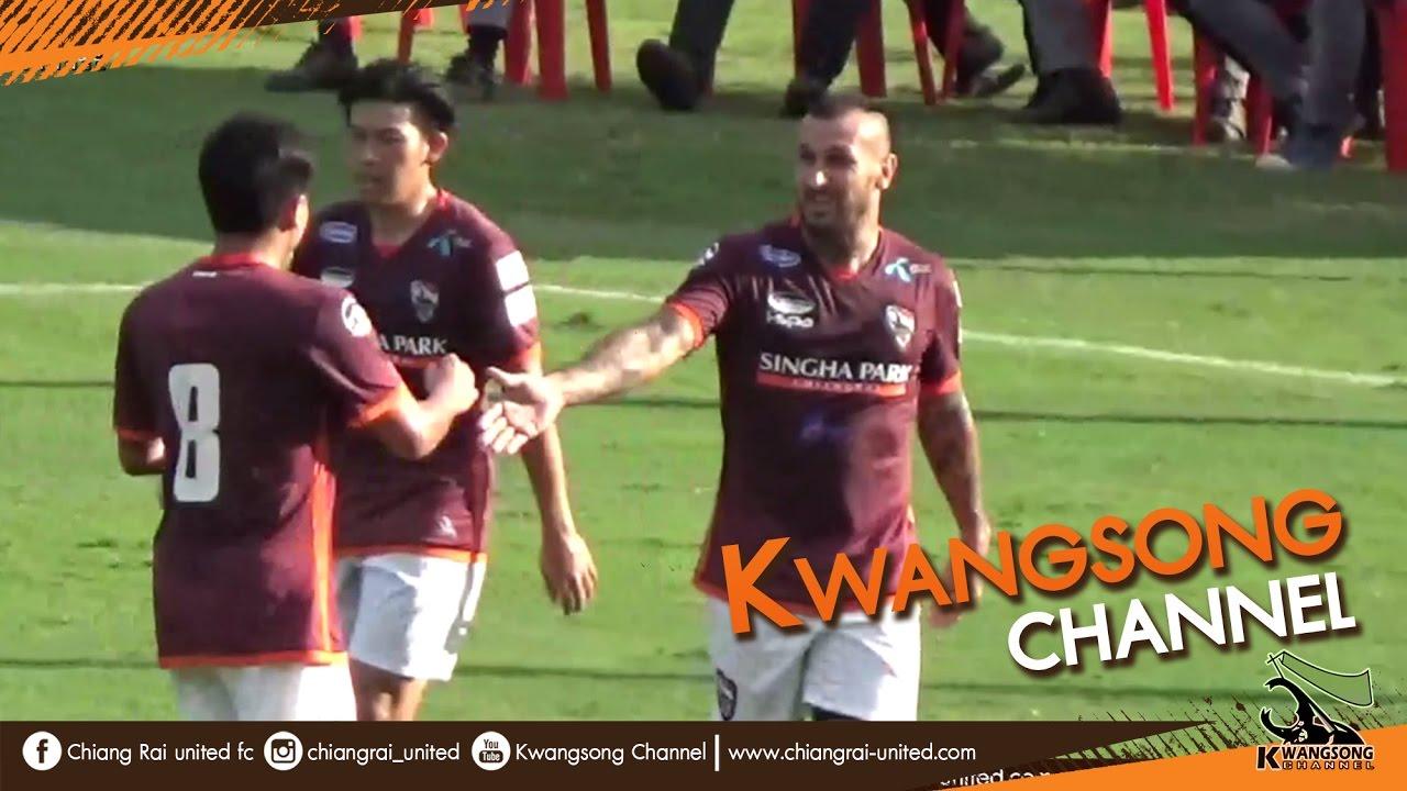 Download [Goals Highlight] Chiangrai United 5-2 Lamphun Warrior : 25 Jan 2017