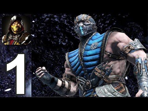 Mortal Kombat Mobile #1 прохождение и геймплей в (мобильной игре) на андроид - МОРТАЛ КОМБАТ МОБАЙЛ