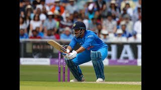 MS Dhoni is not doing it with the bat for India - Harsha Bhogle