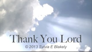 Thank You Lord  (New Gospel Song)