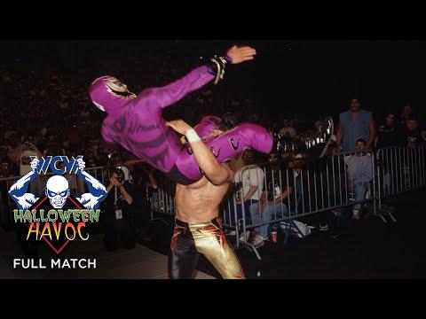 FULL MATCH - Eddie Guerrero vs. Rey Mysterio – Title vs. Mask Match: WCW Halloween Havoc 1997