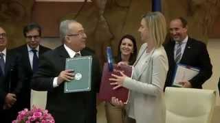 إعادة النظر في اتفاق الشراكة بين الجزائر والاتحاد الاوروبي صلب زيارة موغريني الى الجزائر