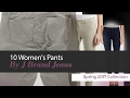 10 Women's Pants By J Brand Jeans Spring 2017 Collection
