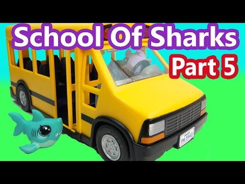 LPS - Big Day - School Of Sharks Series Video Littlest Pet Shop Part 5 Cookieswirlc