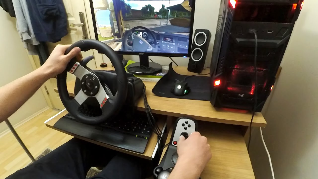 Euro Truck Simulator 2 Logitech G27 H Shifter Youtube