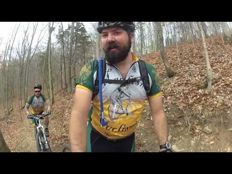 Versailles State Park Mountain Biking featuring the Rotating Hemlet Cam!