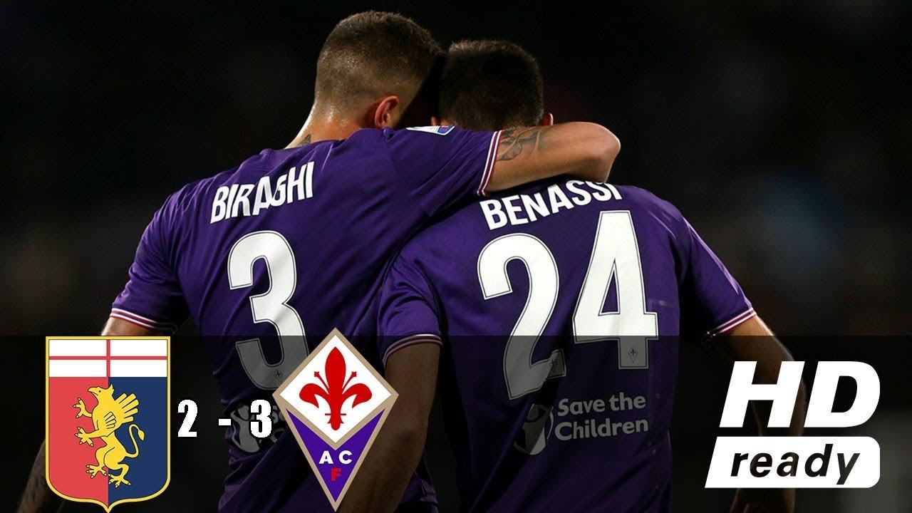 Download Genoa VS Fiorentina 2-3 🔥 Goals & Highlights 🔥 06/05/2018 HD 🔥 Calcio A