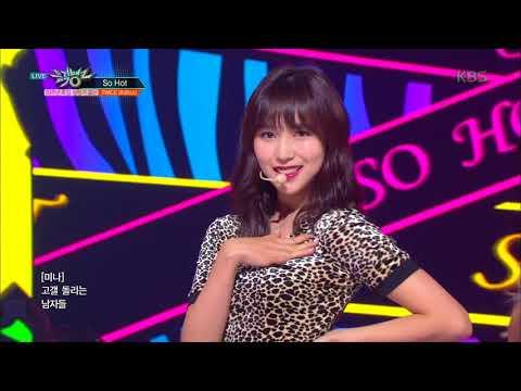뮤직뱅크 Music Bank - So Hot(원곡:원더걸스) - TWICE(트와이스).20180629