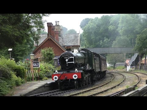 Severn Valley Railway - June 11th - 2016 - 4K (Ultra HD)