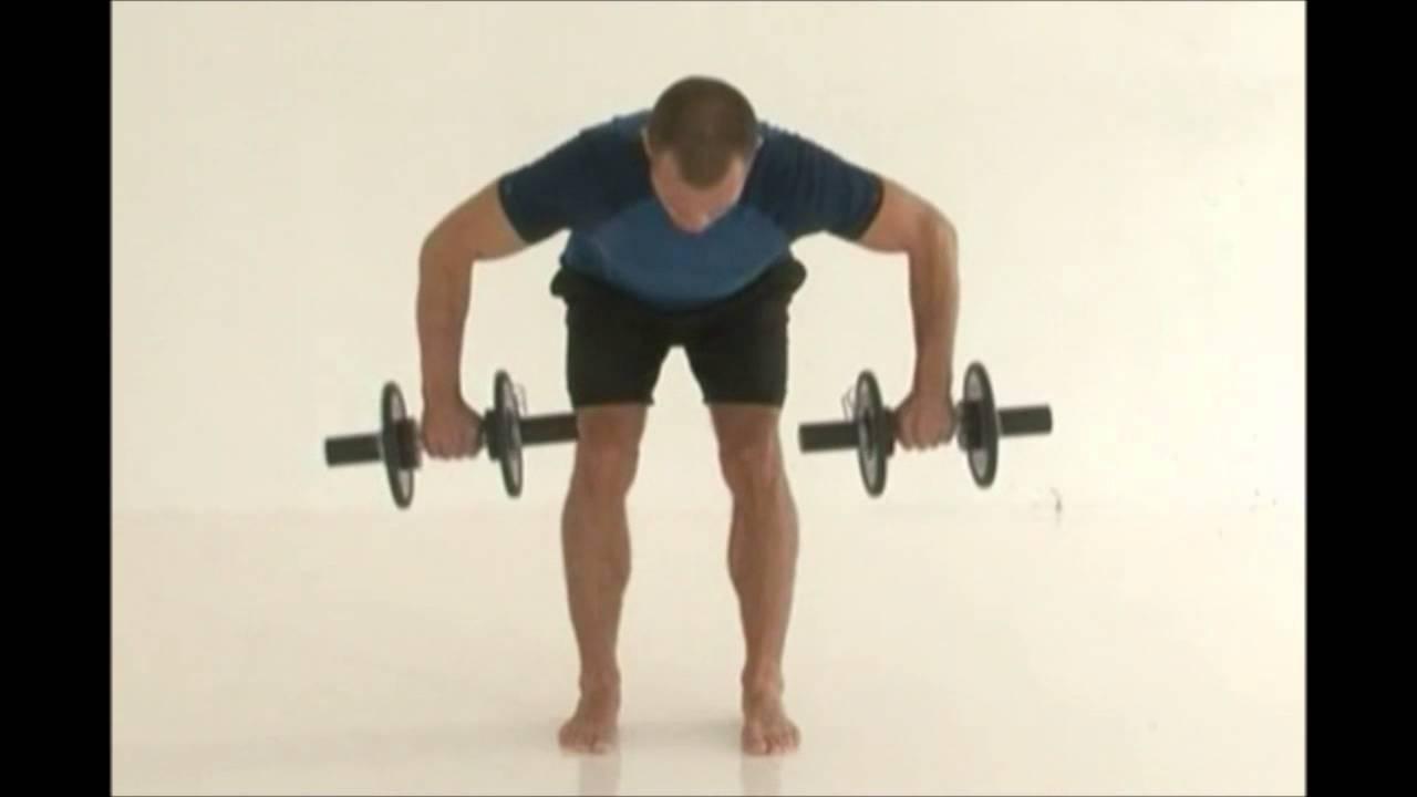 træning håndvægte