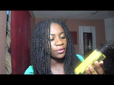 Kinky Twist/ Braids Care: How to Clean your Scalp and Moisturize Your Hair Without Washing