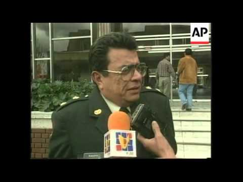 COLOMBIA: GENERAL IVAN RAMIREZ HAS VISA REVOKED BY US