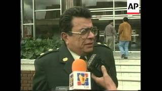 COLOMBIA: GENERAL IVAN RAMIREZ HAS VISA REVOKED BY US