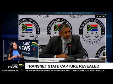 State Capture Inquiry continues with Transnet's Acting CEO Mahomedy