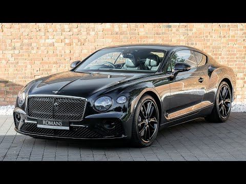 2018 New Bentley Continental GT - Onyx Black - Exterior & Interior Walkaround & Loud Revs