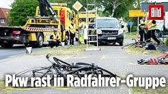 Radfahrer stirbt bei Kreuzungs-Crash, ein weiterer ist schwer verletzt | Bremen