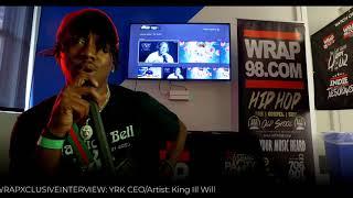 WrapExclusiveInterview - YRK King Ill Will