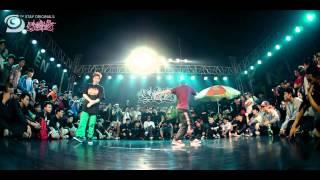 BBOY THESIS USA VS BBOY OCTOPUS KOREA - final bboy battle fliperoflavatv 2015