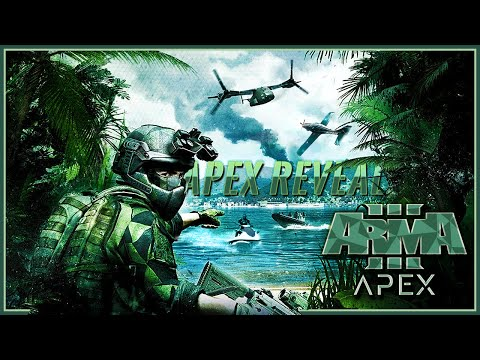 ARMA 3: Apex Expansion - Ghillie Suits , Thermal Masking , Weapons