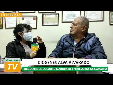 Entrevista a Diógenes Alva Alvarado, presidente de la Coordinadora de Empresarios de Gamarra