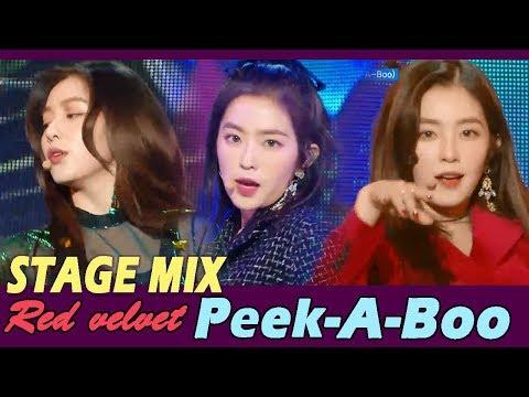 [60FPS] Red Velvet - Peek-A-Boo 교차편집(stage mix)