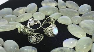 Moonstone and Moonstone Rings Collection 2019