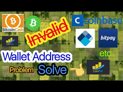 How To Fix Bitcoin Cash Invalid Wallet Address Problem | Sloved |