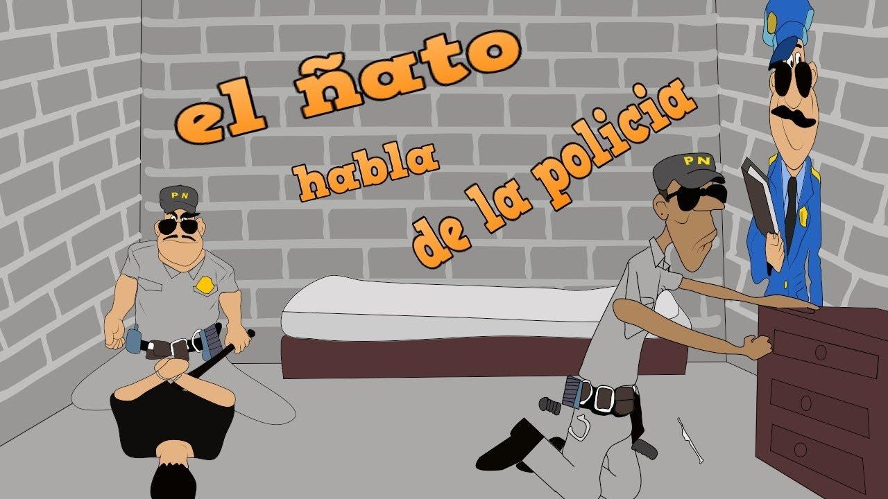 el ñato habla de la policia l silverio animation l animacion de francis silverio
