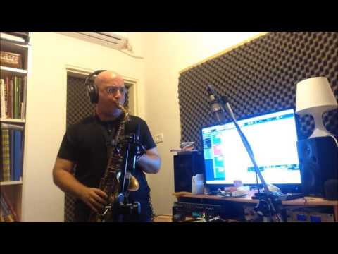 "beatles - ""something"" (cover) - Doron Farhy Saxophonist"