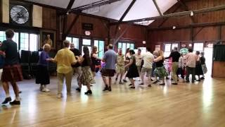 Contra Dance - Arden, DE - Justin Kauker, Larry Unger, Julie Metcalf, Taki Masuko
