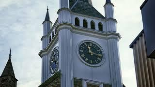 InZicht Ommen (NL) -  Kerkplein en Brigittakerk
