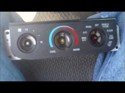 Ford F150 Temperature panel bulb replacement - YouTube