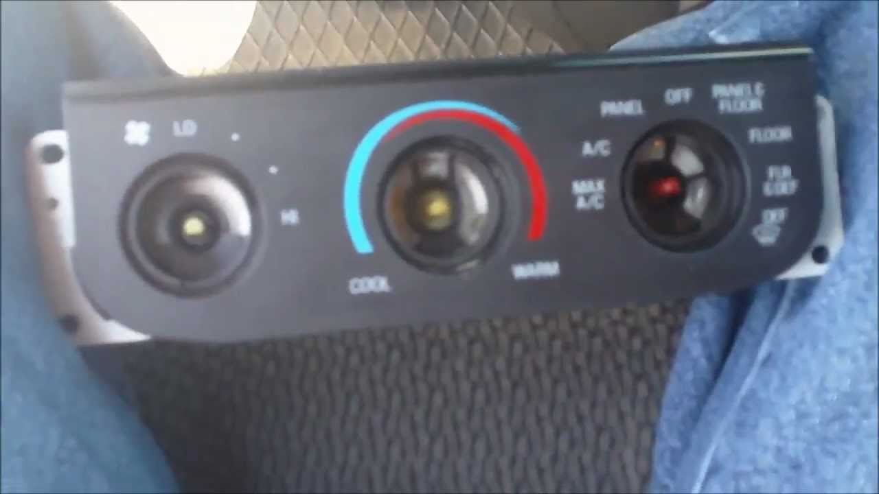 ford f150 temperature panel bulb replacement [ 1280 x 720 Pixel ]
